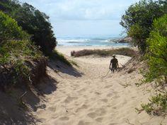 Praia do Gravatá em Laguna, SC