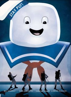 Awesome Ghostbusters poster. - Imgur