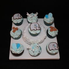 CakeSide - Elephant Cupcakes submitted by Flying B Cakes on www.cakeside.com!