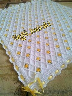 Der neue This Pin was discovered by Ünz , Crochet Afghans, Baby Afghans, Tunisian Crochet, Afghan Crochet Patterns, Baby Knitting Patterns, Baby Patterns, Crochet Stitches, Knitted Baby Blankets, Baby Girl Blankets