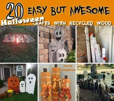 At the end of the summer is time to start thinking for the Halloween decorations for your home. So, from now on you are having enough time to prepare your Halloween decorations. There is no need to invest a big budget on decorations for this fun holiday, as you can make by yourself. We have […] #outdoordiydecorations
