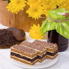 prajituri-de-casa Romanian Desserts, Romanian Food, Candy Cakes, Cupcake Cakes, Dessert Bars, Dessert Recipes, Ideas Paso A Paso, Cheesecakes, Pastry Cake