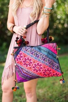 Made with patchwork remnants from the sleeve fabrics from hill tribe gorgeous…