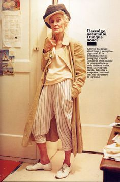 """""""Stylished Disorder"""": Mimi Weddell, Vogue Casa Oct. 05, by Tim Walker. le style est son atout !"""