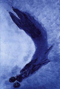 Yves KLEIN -  Anthropométrie sans titre 1960 -  International Klein Bleue (IKB) est un bleu profond crée par Yves Klein.