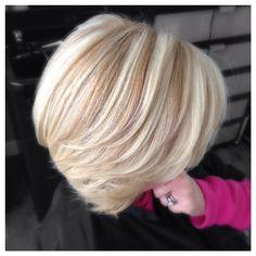 multidimensional #blonde #highlights, color & #lowlights!