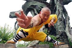 40 Peaceful And Solid Shaolin Monk Martial Art Demonstrations - Bored Art Shaolin Kung Fu, Chinese Martial Arts, Dynamic Poses, Buddhist Monk, Art Academy, Tai Chi, Art Tips, Pose Reference, Cinema