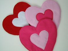 Heart Felt Hot Pad choose your color by TheScrapBasket on Etsy