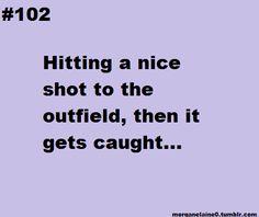 ...softball problems