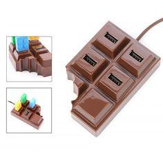 Çikolata Tasarımlı USB Çoğaltıcı