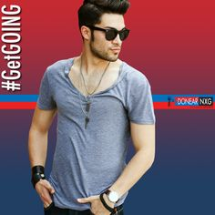 Go out and get a relaxed look just for any occasion in town with Donear NXG  #Style #fashion #Men #Clothing