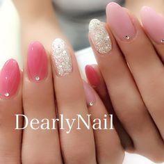 How To Wear The Color Rose Gold Jewelry, nail polish, Shoes And More I. Trendy Nails, Cute Nails, Pink Nails, Glitter Nails, Nails Today, Kawaii Nails, Unicorn Nails, Minimalist Nails, Nail Envy