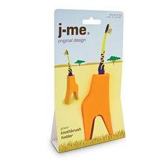 Grace The Giraffe - Toothbrush Holder from TUSK homewares