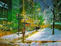 Rue Sherbrooke ~ Andris Leimanis