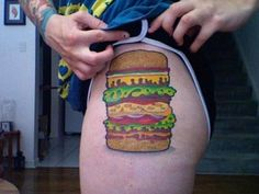 The 18 Worst Fast Food Tattoos (Photos) | AthlonSports.com