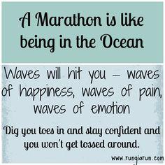 On running a successful first marathon