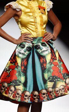 Maya Hansen - Maya Hansen - Madrid - Mujer - Primavera Verano 2013 -  need this for dia de los muertos!