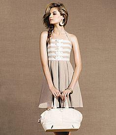 Jessica Simpson Linen Halter Dress | Dillards.com