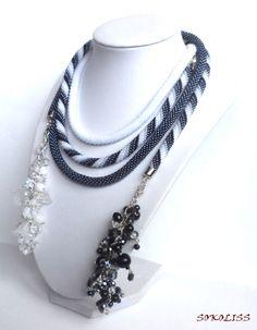 Beaded Crochet Necklace, sokoliss