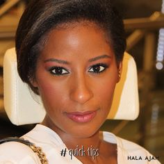 Match the foundation to your skin tone; only light up the center of your face with concealer . #Quicktip #Makeup #glow
