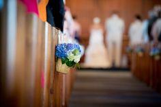 Hydrangea decoration - Cape Cod Wedding at Wequassett Resort from Scott Zuehlke Photography