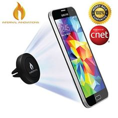 #1 Magnetic Air Vent Phone Mount and Smartphone Stand | Universal Phone Holder | Full 360° Rotation