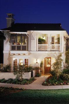 Leaving your Bahama shutters wide open on summer nights allows for breezes to fill your home