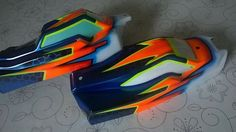 Pair of matching Schumacher shells
