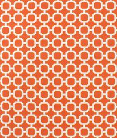 Swavelle / Mill Creek Outdoor Hockley Mandarin Fabric - $8.85 | onlinefabricstore.net