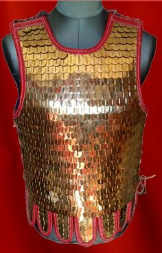 Scale armor suitable for both roman and byzantine reenacting