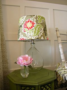 DIY Lampshades... Going to JoAnn's tomorrow to pick out some fabric to makeover our current master bedroom lamps!