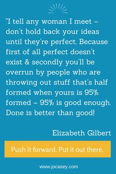 Elizabeth Gilbert on