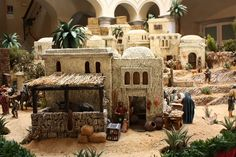 Our nativity scenes - Oscar Wallin Sand House, Ancient Egypt Art, Christmas Nativity Scene, Nativity Scenes, Free To Use Images, Game Concept Art, Architecture Old, Miniature Houses, Inspired Homes