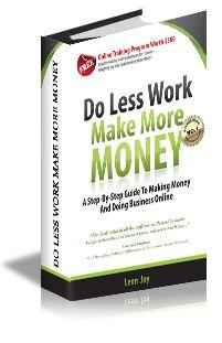 Do Less Work Make More Money
