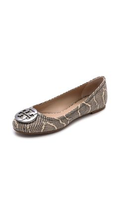 cd76822e8cf Tory Burch Reva Ballet Flats Head To Toe