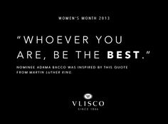 Which quote inspires you to follow your dream? Please click on this inspirational quote to vote for Adama Bacco #vlisco #vliscoWM2013 #BeYourDream #womensmonth #fashion #Quote #wisdom