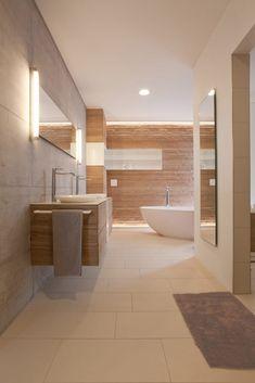 #Warm #elegant Und #modern / Das #Badezimmer In Warmen #Farben Lässt