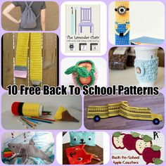 School is back in session! Can I be the first one to say, HORRAY!! Here are a few crochet projects for back to school! This Boho Backpack is so cute and one of a kind! Minions are all the rage! Celebrate going back to school with this Minion Pencil Case. This Pencil Scarf is perfect for when it starts to …