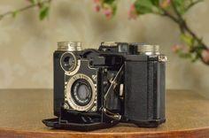 1935 Zeiss Ikon Super Nettel 236 24 35mm Rangefinder Camera Freshly Serviced | eBay