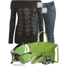 A fashion look from December 2012 featuring Wet Seal sweaters, TaylorSays pumps and Dooney & Bourke handbags. Browse and shop related looks.