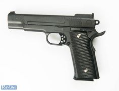 Softair Pistole Metall Federdruck G20 Black Metal Gun