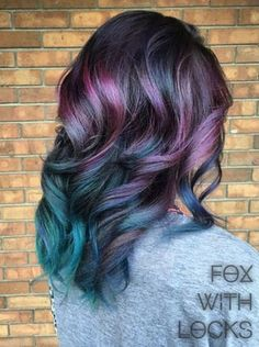 Pin for Later: Try This New Colorful Hair Trend If You Want to Ruffle Some Feathers