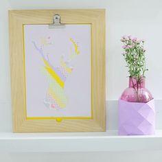 DIY : Silhoutte Print | kitty manu