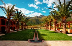 Luxury Hotel in South Africa La Residence Franschhoek outside view