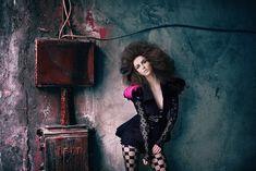 """Desire for Flesh"" by Akif Hakan Celebi Photography  Styling: Pinar Eris & Merve Kirsan  Make-Up Artist: Burcu Tas  Hair Stylist: Ferit Belli  Model: Eva-Maria Kaiser ( IQ Models/ Istanbul )  Photographer's Assistant: Ozgur Sahverdi"