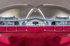 Eero Saarinen's 1962 terminal at John F. Kennedy International Airport by Max Touhey