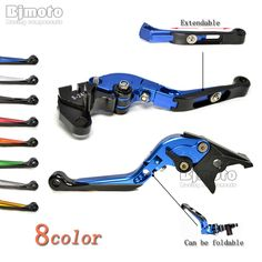 CNC Adjustable Folding Extendable Motorcycle Brake Clutch Levers for Yamaha FZ10 MT10 MT07 FZ07 MT09 SR FZ09 FJ09 MT09 Tracer #Affiliate
