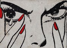 Art pop illustration by Jean Mosambi Art Pop, Pop Art Girl, Comic Kunst, Comic Art, Soundtrack, Et Wallpaper, Bollywood, Arte Obscura, Vintage Comics