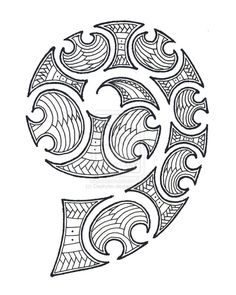 maori spiral #marquesantattoospatterns