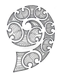 maori spiral